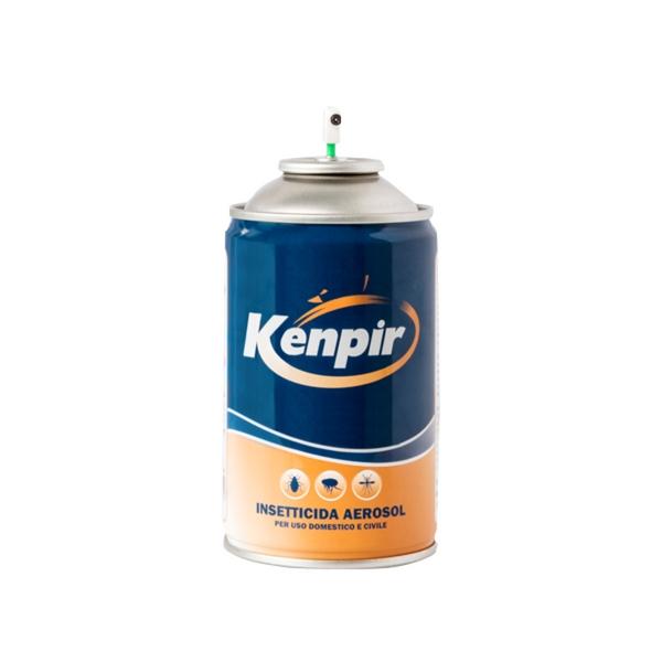 Kenpir Ricarica Insetticida Repellente naturale per uso domestico e civileKenpir Spray Insecticide aerosol for domestic and civil use.