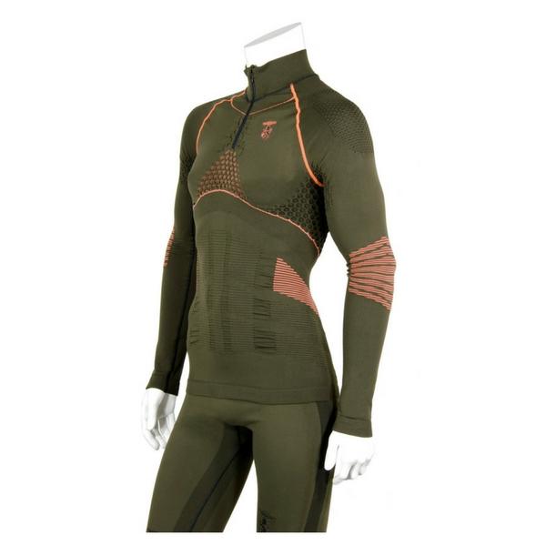 Trabaldo Boreal intimo manica lunga con zip 380/DRYARNTrabaldo Boreal Technical Seamless Knitwear