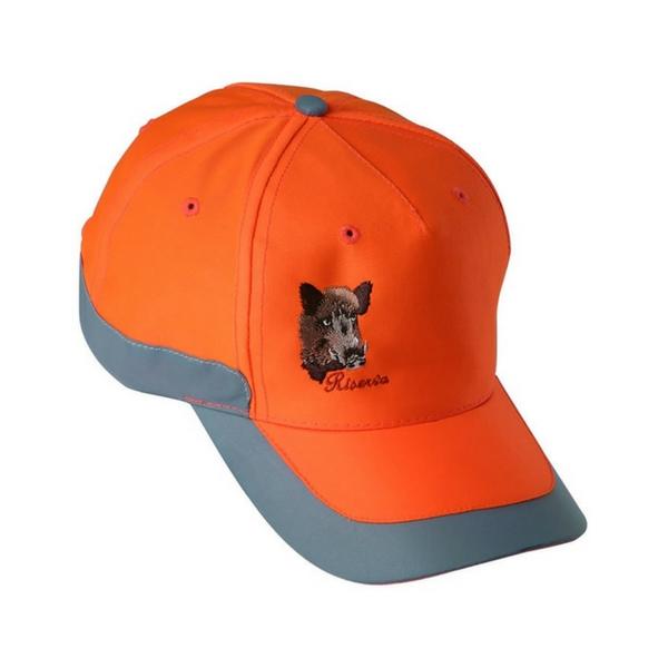 Riserva berretto fluo arancio con ricamo R9031Safety orange cap